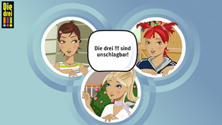 "Second ""Die drei !!!"" app hits the stores"