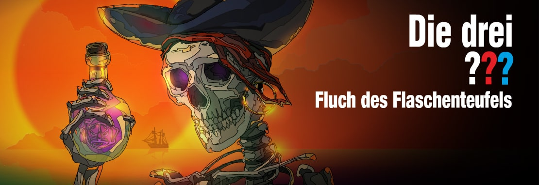 Die drei ??? - Fluch des Flaschenteufels (Curse of the devil's bottle)