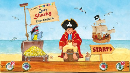 Lernerfolg Vorschule - Capt'n Sharky LITE is available on the App Store